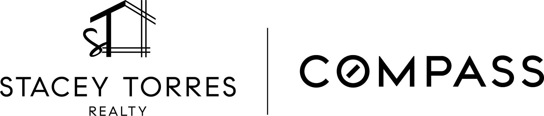 Stacey Torres Compass Logo Black